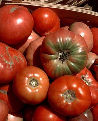 Farm-grown Tomatoes In New Paltz, N.y Art Print