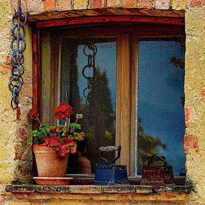 Photograph - Farm House Window by Chris Lord