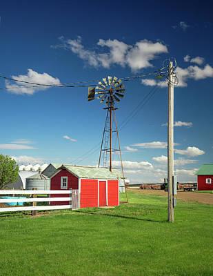 Photograph - Farm Yard by Todd Klassy