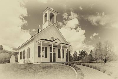 Photograph - Farmhouse Church by James Eddy