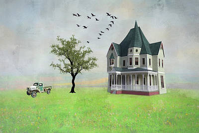 Digital Art - In The Heart Of The Country by Marilyn Wilson
