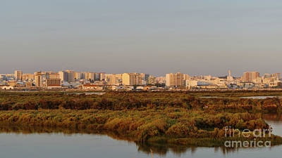 Photograph - Faro City From The Airport by Angelo DeVal