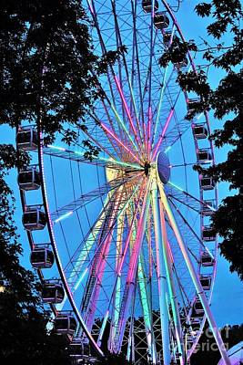 Photograph - Farris Wheel Pigeon Forge by Merle Grenz