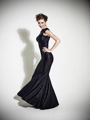 Photograph - Fashion Model by Ray Kachatorian