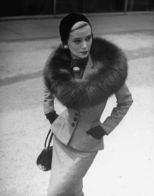 Photograph - Fashions by Nina Leen