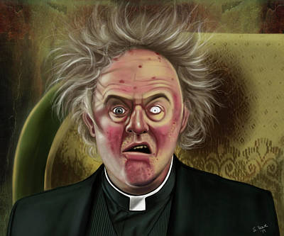 Painting - Father Jack by Shawna Rowe