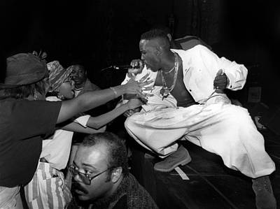 Photograph - Father Mc Live In Chicago by Raymond Boyd