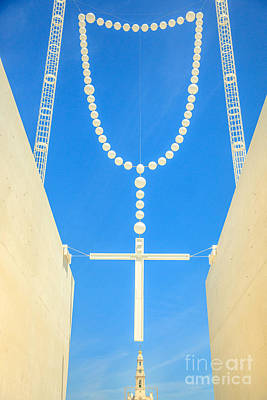Photograph - Fatima Giant Rosary by Benny Marty