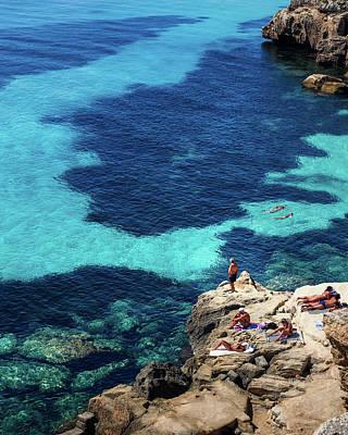 Photograph - Favignana Sea by Giuseppe Buccheri