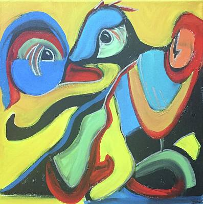 Painting - Favorite Fowl by Cherylene Henderson