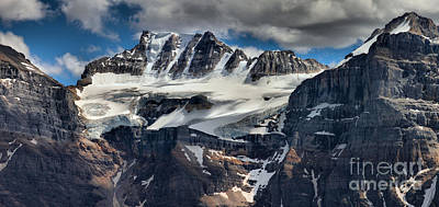 Photograph - Fay Glacier Panorama by Adam Jewell