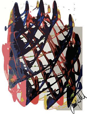 Digital Art - Faze 2 by Jimmy Williams