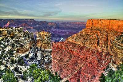 Photograph - Feast For The Eyes 2 Grand Canyon National Park Arizona Art  by Reid Callaway