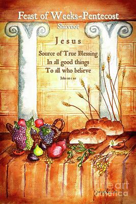 Feast Of Weeks - Pentecost Art Print