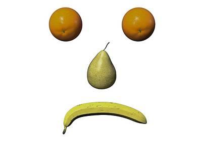 Digital Art - Feeling Fruity Frown PGN by Betsy Knapp