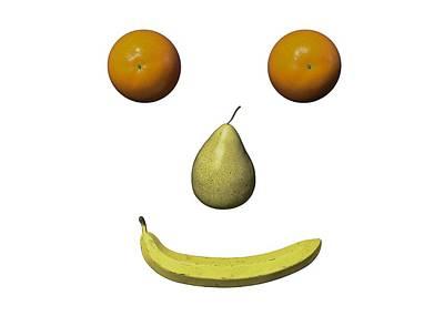Digital Art - Feeling Fruity Smile pgn by Betsy Knapp