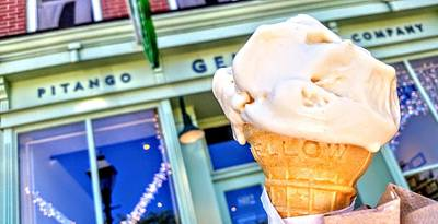 Photograph - Fells Point Gelato by Lisa Bunsey