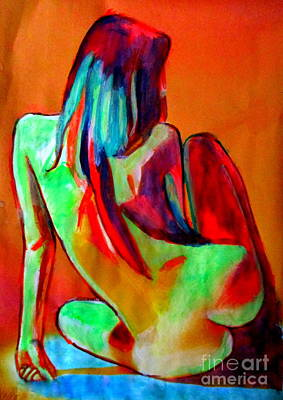 Painting - Female Glow by Helena Wierzbicki