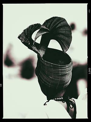 Photograph - Femme Au Chapeau by Jorg Becker