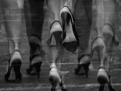 Photograph - Femmes by Jorg Becker