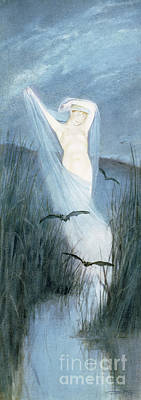 Painting - Fen Fairy by Charles Prosper Sainton