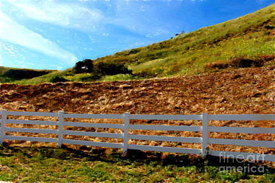 Edward Hopper - Fence and Hills by Katherine Erickson