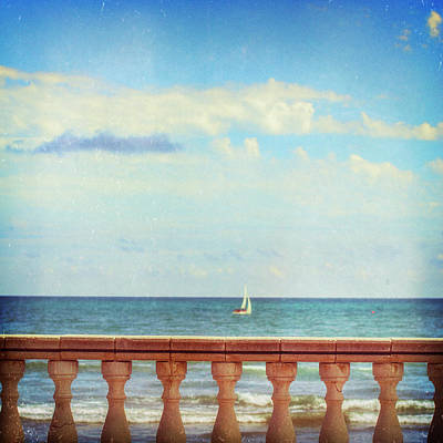 Photograph - Fence By The Sea by Copyright Alex Arnaoudov