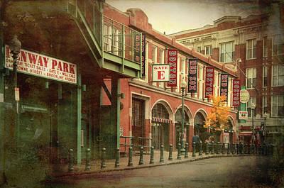Photograph - Fenway Park Gate E - Lansdowne St by Joann Vitali