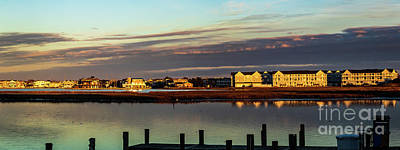 Photograph -  Fenwick Island Panorama by Thomas Marchessault
