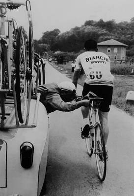 Two People Photograph - Ferdinando Brandolini At Giro D In by Keystone-france
