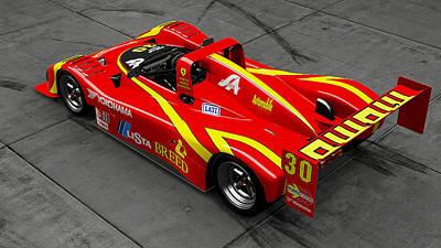 Photograph - Ferrari 333 Sp - 04 by Andrea Mazzocchetti