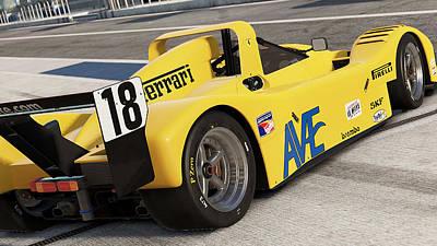 Photograph - Ferrari 333 Sp - 11 by Andrea Mazzocchetti