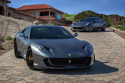 Photograph - #ferrari #812superfast And #ff #print by ItzKirb Photography