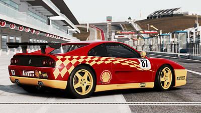 Photograph - Ferrari F355 Challenge - 45 by Andrea Mazzocchetti