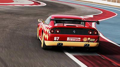 Photograph - Ferrari F355 Challenge - 52 by Andrea Mazzocchetti