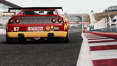 Photograph - Ferrari F355 Challenge - 53 by Andrea Mazzocchetti