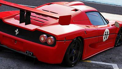 Photograph - Ferrari F50 - 02 by Andrea Mazzocchetti
