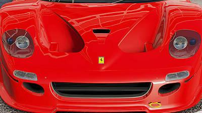 Photograph - Ferrari F50 - 04 by Andrea Mazzocchetti