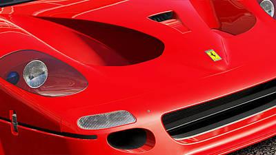 Photograph - Ferrari F50 - 05 by Andrea Mazzocchetti