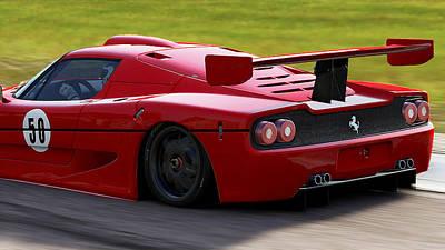 Photograph - Ferrari F50 - 12 by Andrea Mazzocchetti