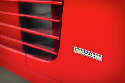 Photograph - #ferrari #testarossa #print by ItzKirb Photography
