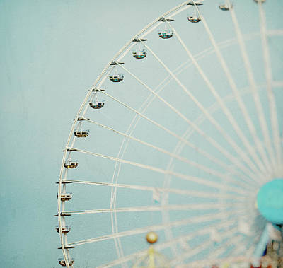 Photograph - Ferris Wheel by Julia Davila-lampe