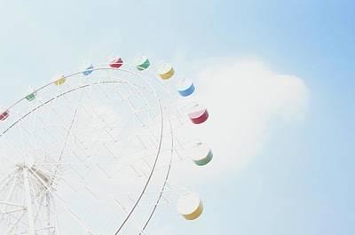 Photograph - Ferris Wheel by Sense,love,