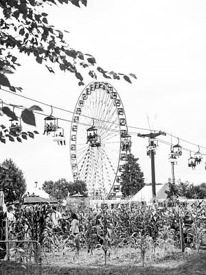 Photograph - Ferris Wheel by Whitney Leigh Carlson