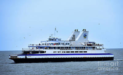 Photograph - Ferry Boat Delaware by Skip Willits