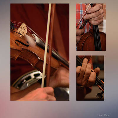 Photograph - Fiddling by Karen Rispin