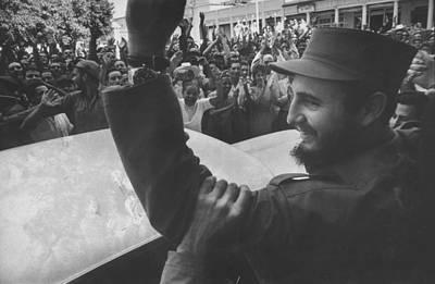 Photograph - Fidel Castro by Grey Villet