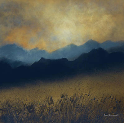 Painting - Fields Of Gold by Dick Bourgault