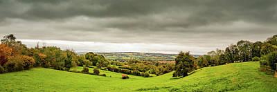 Photograph - Fields of green, skies of ...... by Steve Elliott