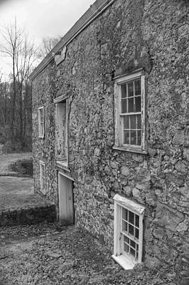 Photograph - Fieldstone Workshop - Waterloo Village by Christopher Lotito